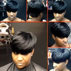 Natural mushroom short cut by @giftedtouch