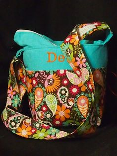 How Cute... Great Grad Gift Monogrammed Dslr Camera Bag 8x5x10 Canon Nikon by StrappyStyles