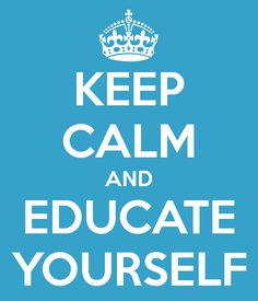 Educate yourself - learn what lights YOUR fire