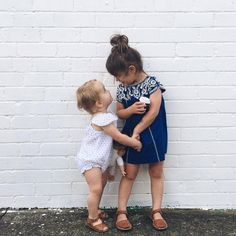 We ❤ seeing siblings in #VelveteenClothing - we especially love it when the siblongs are as cute as @kendallhutchinson 's daughters are!