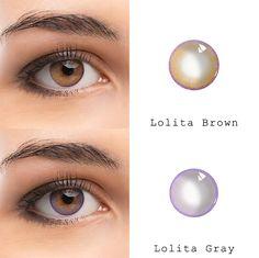 Mermaid Tears series: Brown and pink Contact Lenses For Brown Eyes, Eye Contact Lenses, Coloured Contact Lenses, Lenses Eye, Color Contact Lenses Online, Makeup Art, Eye Makeup, Colored Eye Contacts, Mermaid Eyes