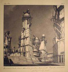 Lebbeus Woods: Early Drawings at the Friedman Benda Gallery (2012)