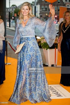 Queen Maxima of The Netherlands attends the benefit gala dinner for the Princess Maxima Center for childrenÕs oncology in the Concertbuilding on September 5, 2017 in Amsterdam, Netherlands. The benefits of the dinner go to two projects of the Center; the parent-child rooms and an intra-operative MRI scan. (Photo by Patrick van Katwijk/Getty Images)