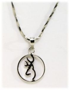 Browning Buckmark Sterling Silver Circle Pendant Necklace by Browning, http://www.amazon.com/dp/B003RVS3TE/ref=cm_sw_r_pi_dp_CHf6qb0TNCSDH