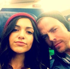 Airplane selfie with Derek vote for tham #DWTS