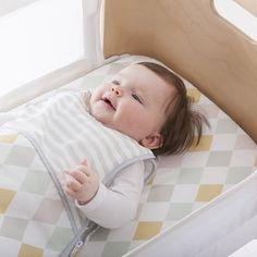Olli Ella creates bedding for the Bednest co-sleeper