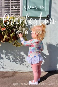 If you only have 2 days to visit Charleston, South Carolina with kids, this is how you should spend it! // Family Travel   Vacation Ideas   Southern US