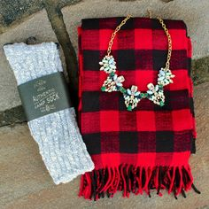 Stones and buffalo plaid how winter....