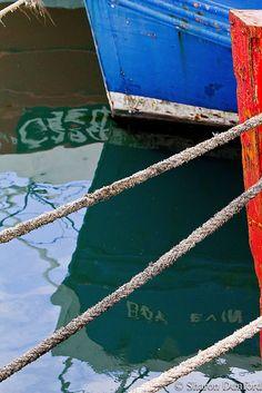 Blue on Water, via Flickr.