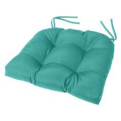 Cushion Source 18 x 16 in. Solid Tufted Sunbrella Chair Cushion - GGEDG-5403