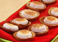 Wes Martin's Mini S'more's Tarts
