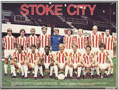 Stoke City in 1978 Stoke City Fc, Soccer Teams, Stoke On Trent, Rugby, Cricket, 1970s, Legends, Nostalgia, Icons