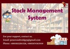 If you need a Stock Management System, contact us. Email: powerandroidgrp@gmail.com Phone: +8801815264328, +8801674563939  #google #business #job #programming #code #studio #skill #android #ios #website #webdevelopment #iTunes #playstore #apps #top_software_developer #top_android_developer #best_it_company #Marketing #Business #Software #Apps #Mobile #Entrepreneur #Sales #Digital #Tools #top_software_company_in_bangladesh #stock_management_system Software Apps, Business Software, Android Developer, Competitor Analysis, Web Development, Programming, Itunes, Ios, Entrepreneur