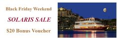 Put relaxation on your list.... tomorrow is the last day to get a bonus voucher for our dinner cruises.