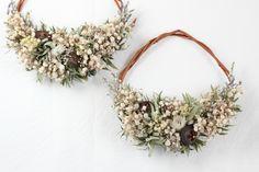 FLEURI (フルリ)| ドライフラワー dryflower リース wreath ブーケ かすみ草 ハーフリース