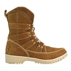 @sorelfootwear Meadow lace boots provide comfort and utility. Who wouldn't want a pair this winter?