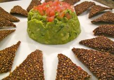 Red Pepper and Ancho Chile Chia Crackers Raw Vegan Recipes, Snack Recipes, Paleo, Healthy Recipes, Snacks, Vegan Meals, Healthy Foods, Chia Recipe, Raw Desserts