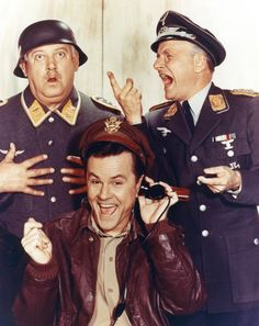 Watch Schultz, Colonel Klink, Hogan, and more on Hogan's Heroes weeknights at 6:30/5:30c on TV Land!