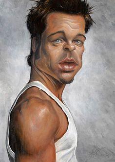 Brad Pitt.    🌻 For more great pins go to @KaseyBelleFox