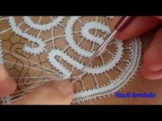 Irish Crochet Patterns, Crochet Vest Pattern, Bobbin Lace Patterns, Crochet Lace Edging, Form Crochet, Tatting Patterns, Crochet Diagram, Bruges Lace, Romanian Lace