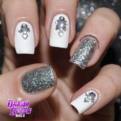 Drama Queen Nails #nail #nails #nailart