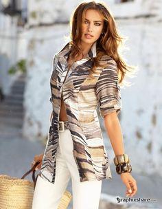 Irina Sheik – Madeleine S/S 2011 Catalog