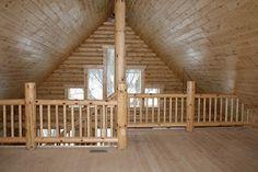 Building A Log Cabin: Cabin Loft