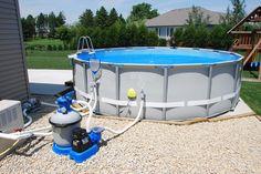 Diy Pool Fountain Pool Stuff In 2019 Pool Fountain
