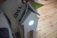 Veja mais no joiasdolar.blogspot.com.br *Em cada post do blog constam os créditos das imagens* #decor #inspiração #inspiration #inspiración #ideas #ideias #joiasdolar #lamp #birdhouse
