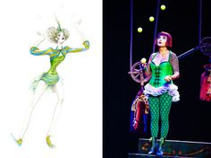 Jonglerie - The Juggler: Designed by Alan Hranitelj for Zarkana by Cirque du Soleil