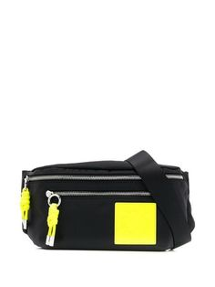 Shop Karl Lagerfeld two tone belt bag