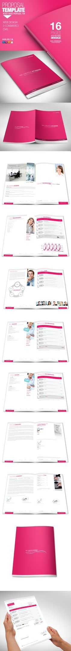 Proposal Proposals, Proposal templates and Template - graphic design invoice sample