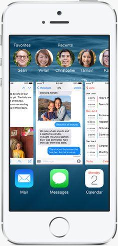 Waiting for Tonight Apple - iOS 8 - Design iOS8 Apple iPhone 6,5s,5,4s,4
