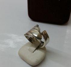 170 mm Besteckschmuck Silberbesteck Ring von BesteckschmuckBaron