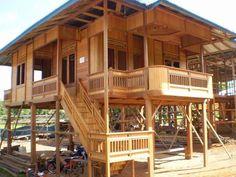 Rumah Kayu Murah Berkualitas - posted by Rakhmar Wood at www.lintasblog.com