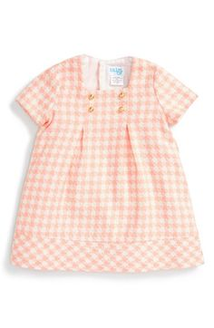 Luli & Me Houndstooth Shift Dress (Baby Girls) available at #Nordstrom