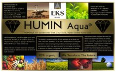 European (HUNGARIAN) innovation: clear, 100% water soluble, humic acid concentrate. Increase yield by 25-50%,  - more crops, earlier, healthier - supports water management - fertilize weaker/desert soils (documented trials on sand soils!) - less rain/irrigation is sufficient