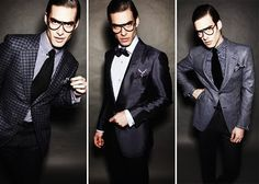 print mixing for men ala tom ford