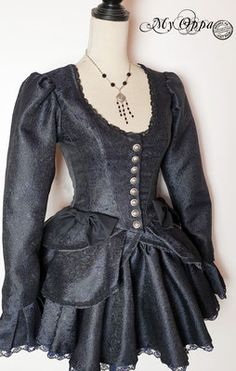 Site officiel My Oppa - site My Oppa Steampunk Costume, Costumes, Boutique, How To Wear, Clothes, Dresses, Fashion, Baroque Dress, Striped Skirts