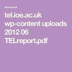 tel.ioe.ac.uk wp-content uploads 2012 06 TELreport.pdf Electronic Voting, Voting System, Content, Healthy, Pdf, Patterns, Ideas, Block Prints, Health