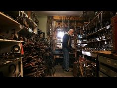 """H.G. """"Skip"""" Brack salvages tools from all over New England to resell at affordable prices, in an effort to support his local economy and craftsmen."""