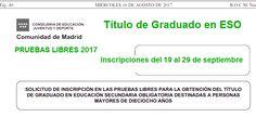 Pruebas Libres para obtener el Título de la #ESO 2017 #Madrid Baccalaureate, Summoning, Degree Of A Polynomial