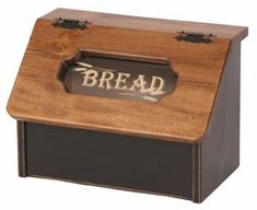 Amish Pine Bread Box