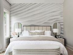 Alla inlägg • Instagram How To Install Wallpaper, Scandinavian Bedroom, Bedroom Wallpaper, Wallpaper Ideas, Bedroom Vintage, Bold Colors, Wallpaper Installation, Minimalist, Accent Walls