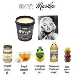 DIY Lush Marilyn!!!! (Hair Mask For Blondes)