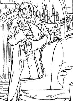 Harry Potter Coloring Page | Coloring Pages of Epicness ...