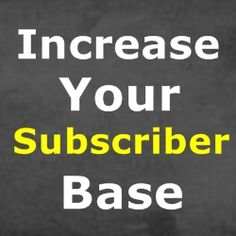 Good Email Marketing Ideas That Increase Your Subscriber Base - Home Based Business Program