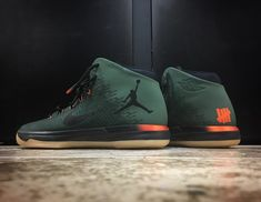 Mache Just Made the Air Jordan 31 Unbeatable Nike Air Max Jordan, Jordan 31, Air Jordan Sneakers, Best Sneakers, Casual Sneakers, Snicker Shoes, Jordan Basketball Shoes, Sneaker Games, Shoes