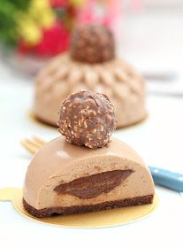 my bare cupboard: Nutella mousse cakes