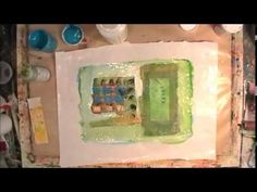 Imagine that....wax paper. A fun way to make papers for journals or collage with wax paper! By Suzi Dennis with sUZI mADE.
